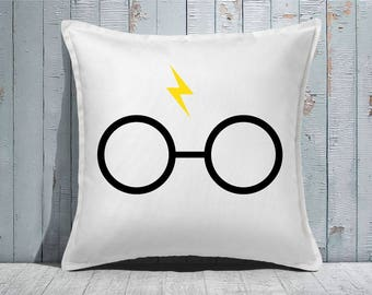 Custom Decorative Pillow | Throw Pillow | Custom Pillow | 20 x 20 Pillow Cover | Custom Pillow Cover | Personalized Pillow | wizard