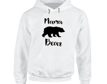 Mama Bear Hoodie, Hooded Sweatshirt, Momma Bear Hoodie, Mama Bear Sweatshirt, Momma Bear Sweatshirt, Mama Bear, Pullover,