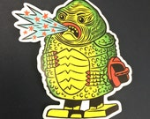 Creature From the Spark Lagoon Sticker