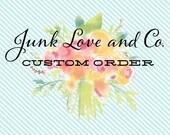 RESERVED for Twinsmom021 Custom Listing