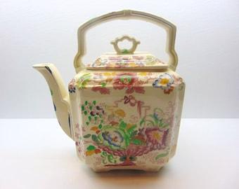 Vintage Masons Ironstone Teapot