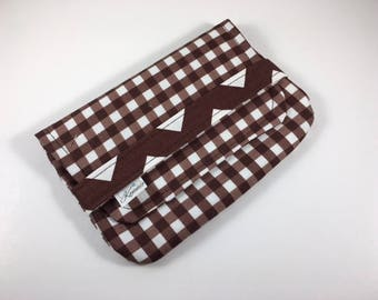 Sanitary Pad Holder Tampon Case Gingham