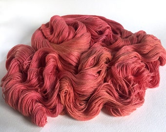 Leah. Silk / Cotton Lace Yarn. Let Nothing You Dismay