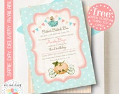 Vintage Cinderella Invitation, Cinderella Birthday Invitation, Cinderella Birthday Party, Cinderella Party Invitation, BeeAndDaisy