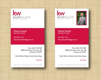 Digital File | Custom Business Card Design Vertical Stripe | Any Color Any Company