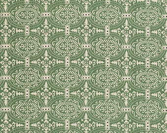 Alchemy Linen Memoir in Leaf by Amy Butler - Half Yard
