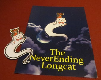 Mystic Messenger 707 Longcat Print and Sticker *SALE*