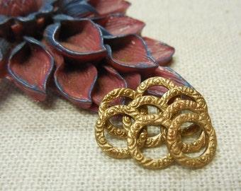 Fancy Brass Ring