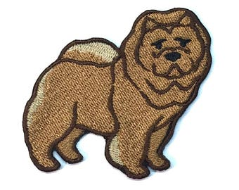 Iron on Patch Chow Chow No Name