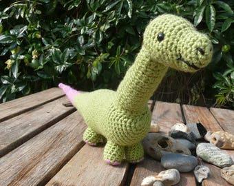 Dionysus Crochet dinosaur PATTERN | Amigurumi | PDF instant download | diplodocus | soft toy | UK notation