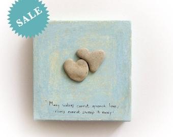 Anniversary Gift ideas, genuine Heart shaped Beach stones rocks, unique gift for couples, unique love gift, original heart rocks, sea finds