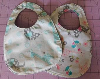 Handmade Baby Drool Bib