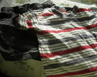 Vintage Health Tex Toddler Shorts and Top 3T