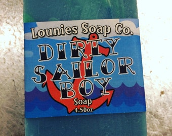Dirty Sailor Boy Soap