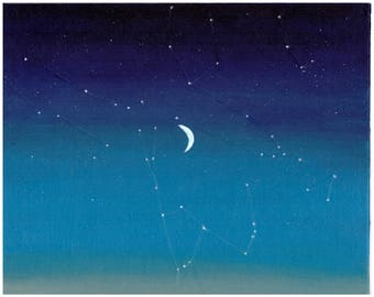 Special Event Sky Map Custom Painting - Wedding, Birth, Anniversary Gift