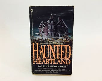 Vintage Non Fiction Book Haunted Heartland by Norman & Scott 1986 Paperback
