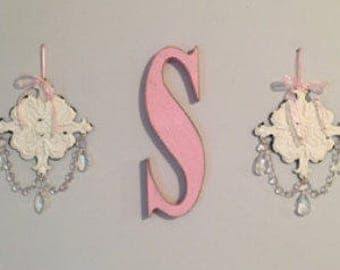 wall letters lower case letters distressed 16 inch wall letters custom letters personalized letters wooden letters shabby chic letters