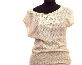 Wedding Lace boho blouse