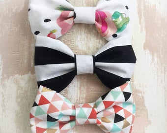 Big Bow Headbands and Clips
