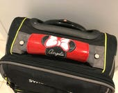 Disney inspired luggage wrap