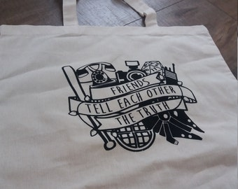 Stranger Things Inspired Tote Bag - Market Tote