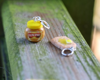 Stitchmarkers - Peanut Butter and Toast - Stitch Markers