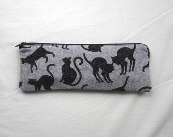 Skinny Cats Zipper Pouch / Pencil Case