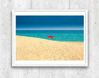 Beach in Marche, Italy – Fine Art Print