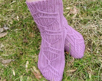 Knit Sock Pattern:  Langofel Sock Knitting Pattern