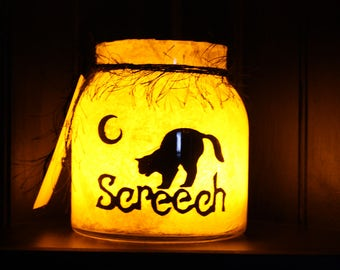 Sounds in the Night Halloween Lantern