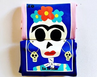 "Toddlers and Kids ""La Frida"" (Frida Kahlo) Sugar Skull Tee"
