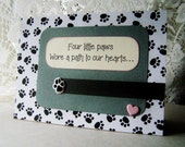 Pet Sympathy card, Death of family pet, dog bereavement card, cat condolence card, Pet compassion, sorry for your pet loss, With sympathy