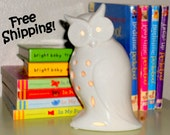 What a Hoot Owl Accent Lamp - Night Light - Lamp