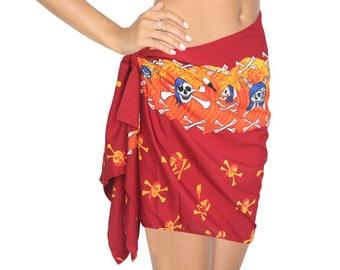 Items similar to Short mini sarong pareo beach wrap
