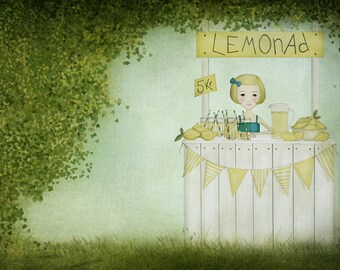 Lemonade - Art print (3 different sizes)