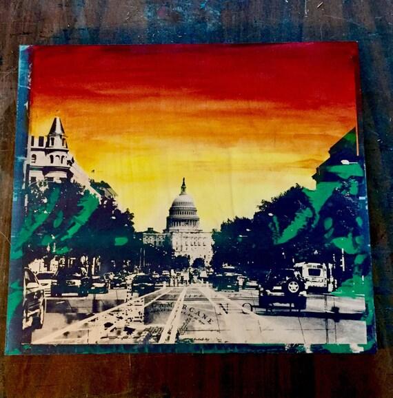Big Red Capitol
