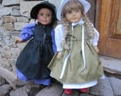 Special Order for nillaexpress4 -18 Inch American Girl Doll Dress - 2 Amish outfit's