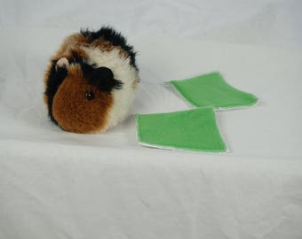 Drip pads, water bottle pad, pee pad, guinea pig accessories, set of 2