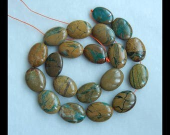 Green Opal Loose Beads,1 Strand,39CM In The Length,19x18x6mm,16x12x4mm,70.4g(e0430)