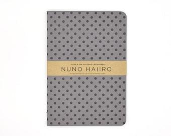 letterpress notebook / pocket notebook / handcrafted / A6 notebook / travel diary / journal / notetaker