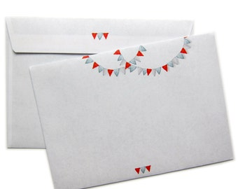 little flags envelopes