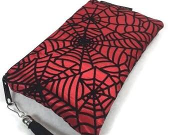 Goth Purse, spider Purse, spider web clutch, ComicCon Bag, steam punk purse, steampunk bag, punk clutch, goth clutch, glam clutch