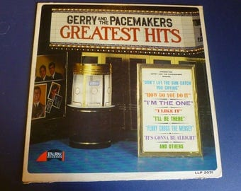 Gerry And The Pacemakers Greatest Hits Vinyl Record LP LLP 2031 Laurie Records 1966