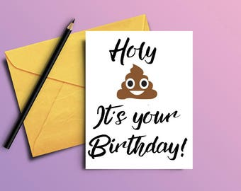 Adult humor - Funny birthday card - Card for him - Card for her - Birthday card - Printable birthday card - Humorous birthday card