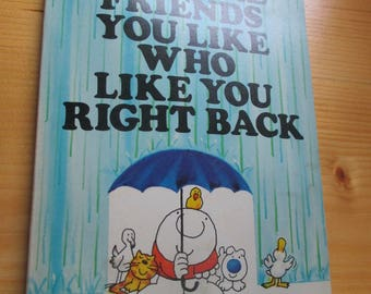 "Vintage ""Ziggy"" Paperback - Pets Are Friends You Like Who Like You Right Back"