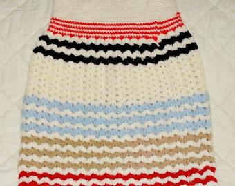 Hand crocheted skirt