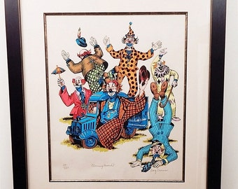 "George Crionas Limited Edition ""Clowning Around"""