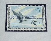 Duck Stamp, RW30, 1964-65, Brant Geese, Signed