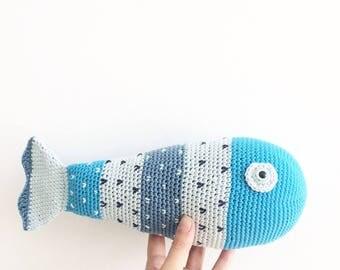 Crochet Fish - PDF Crochet Pattern
