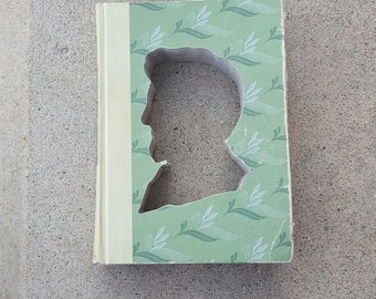 Upcycled Book Decor - Abraham Lincoln